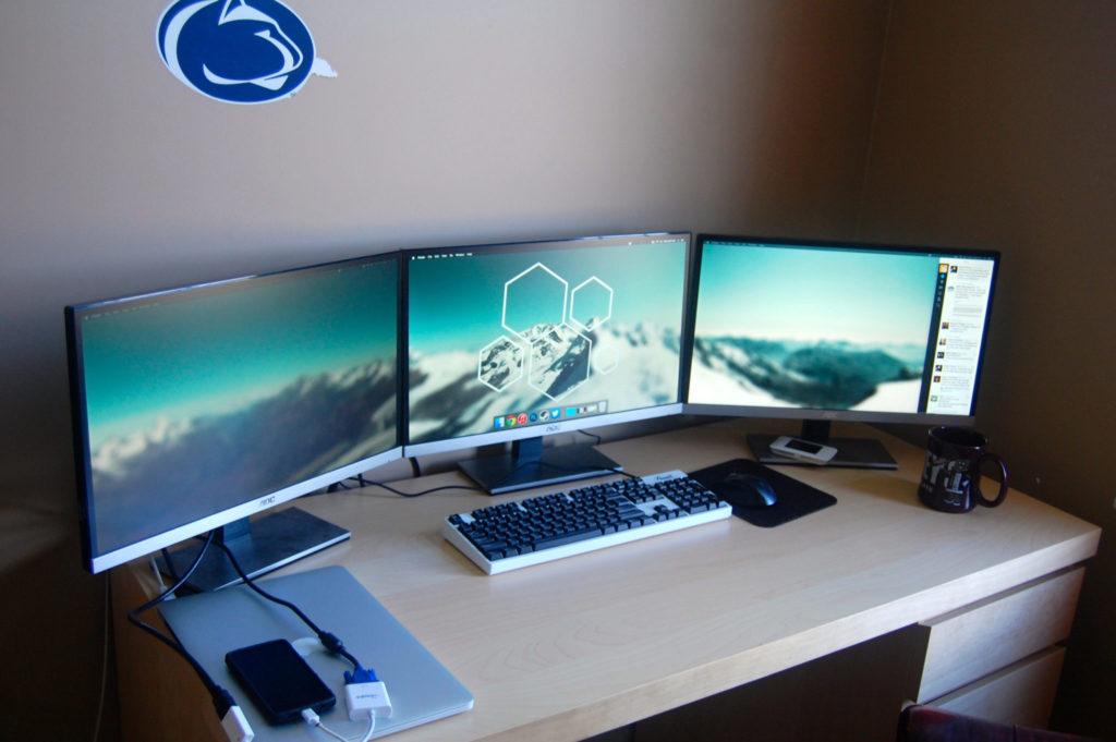 gaming monitor multi display setup