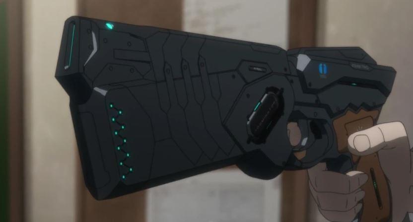 psycho pass gun