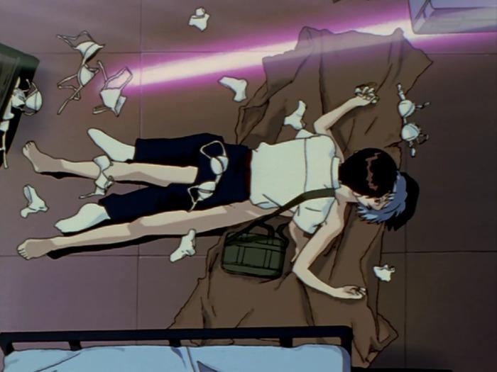 anime boob fall