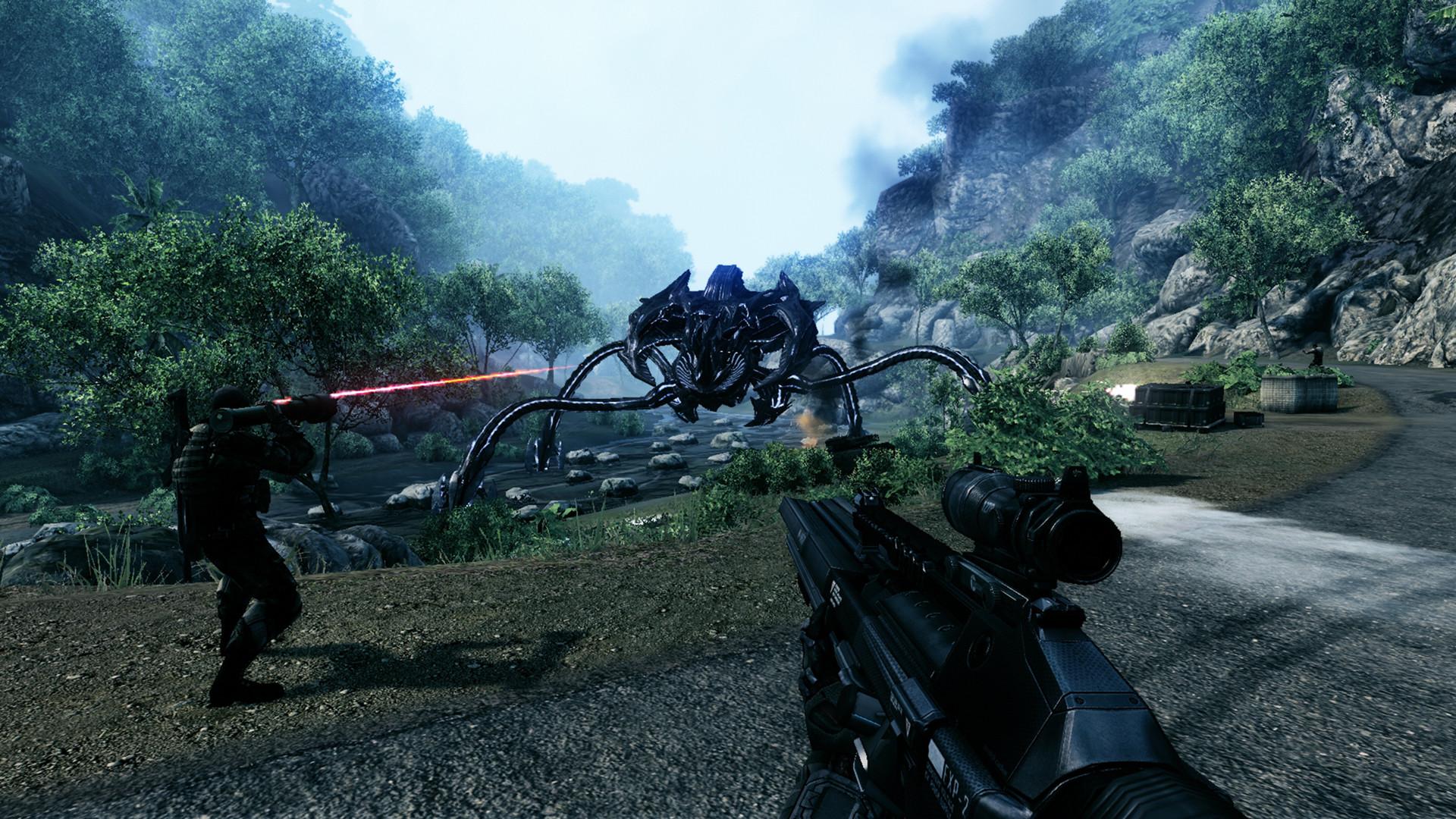 CrysisSeries gameplay