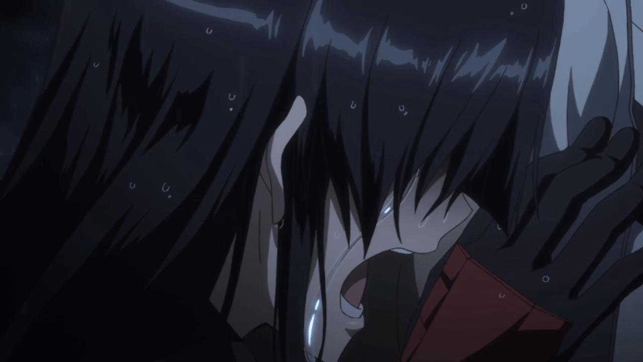 akame crying