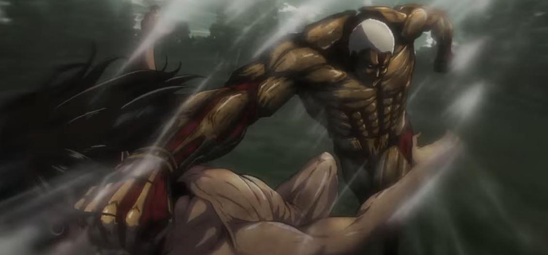 armoured titan