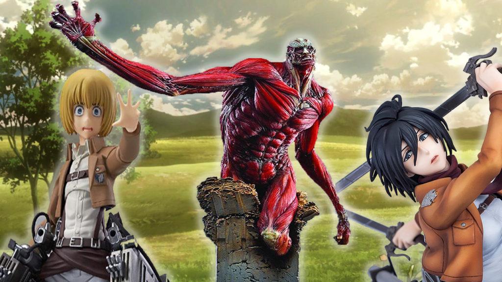 Attack on Titan figures thumbnail
