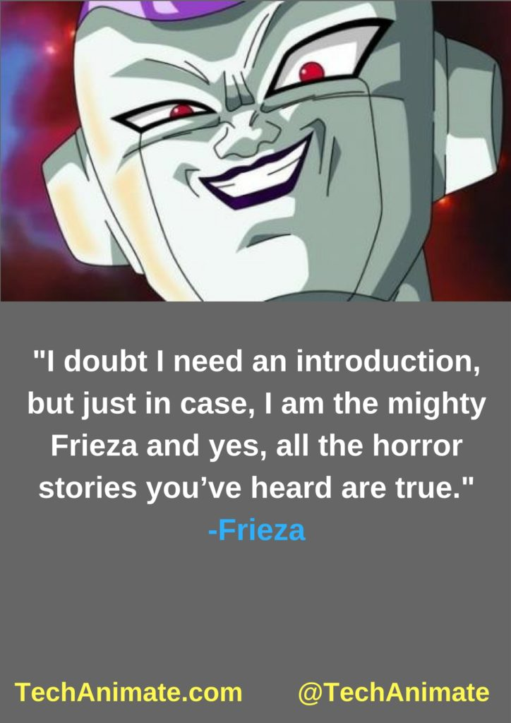 I doubt I need an introduction, but just in case, I am the mighty Frieza and yes, all the horror stories you've heard are true.