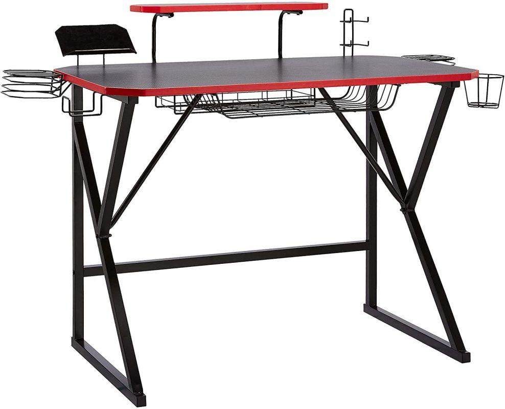 AmazonBasics Gaming Computer Desk