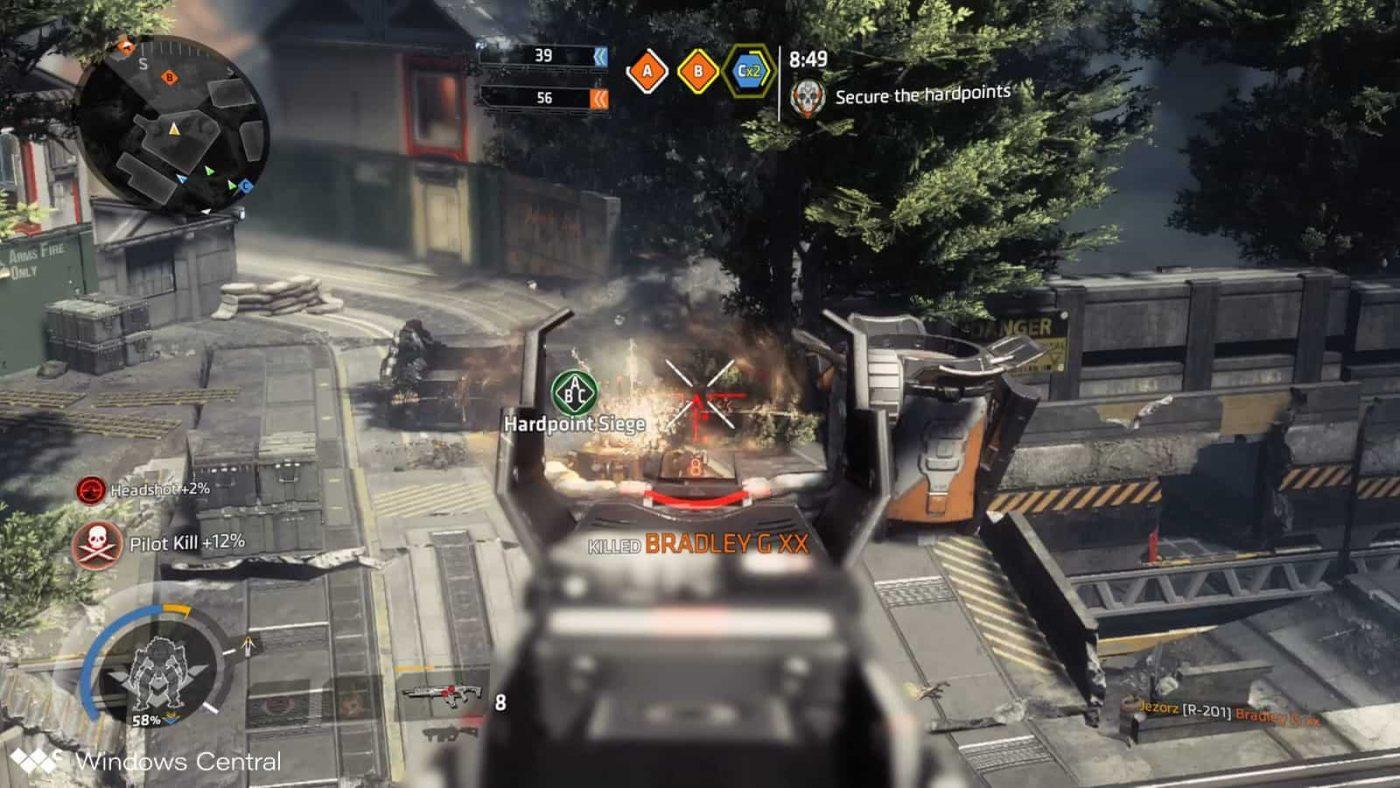 titanfall 2 shooting